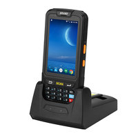 7 android 4 Android 7.0 Handheld pos terminal with NFC UHF RFID reader memory 4 inch large screen Data Terminal 1D,2D Laser Barcode Scanner (4)