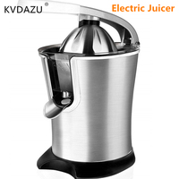 Electric Juice Extractor Stainless steel Juicer Fruit Drinking Machine food blender manual fresh juice machine