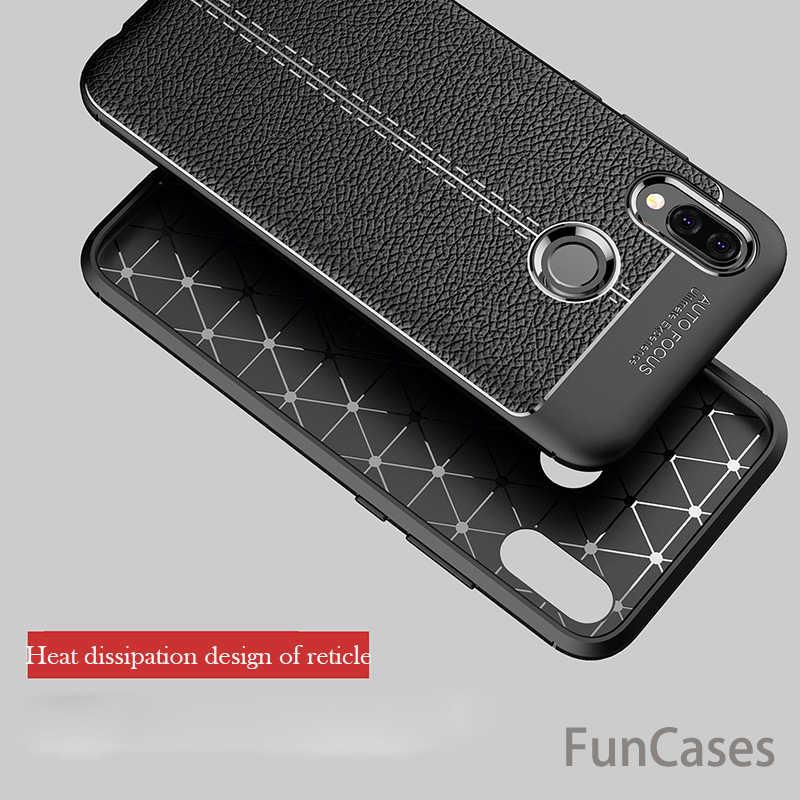"""Đối với Huawei P20 Lite Trường Hợp Sang Trọng Siêu Mỏng Chống Sốc Mềm TPU Leather Trường Hợp Ví shipping Huawei P 20 Lite P20Lite 5.84 """"Coque Fundas"""
