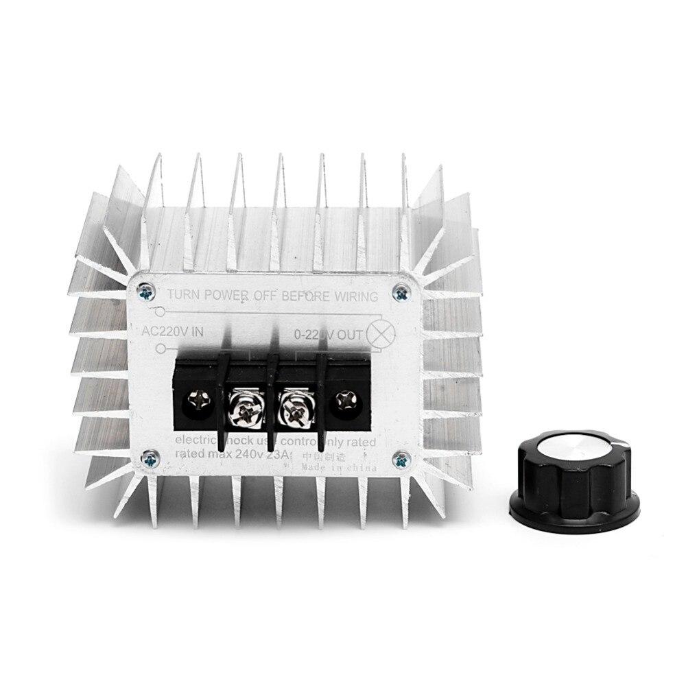 AC 220V 5000W Regulator SCR High Power Motor Electronic Voltage Regulator Switch цена 2017