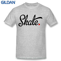 GILDAN Print Tee Men Short Sleeve Clothing Men S Short Neck Sleeve Skate Cotton T Shirt