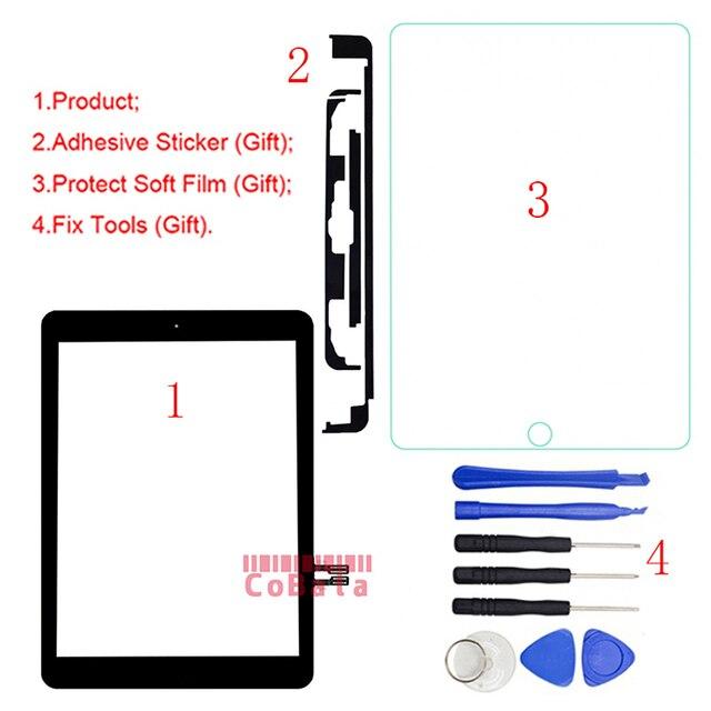 1 Pcs Home Nút Key Cho iPad 9.7 (2018 Phiên Bản) cho iPad 6 6th Gen A1893 A1954 Màn Hình Cảm Ứng Digitizer Front Outer Bảng Điều Chỉnh Kính