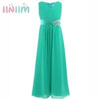 New Elegant Girls Dress Summer Tutu Wedding Vestidos Birthday Party Dresses V Neck Children S Clothing