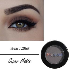 Image 4 - PHOERA Natural Matte Eye Shadow Waterproof Palette 12 Colors Pigment Nude Eyeshadow Makeup Beauty Make Up Cosmetic TSLM1