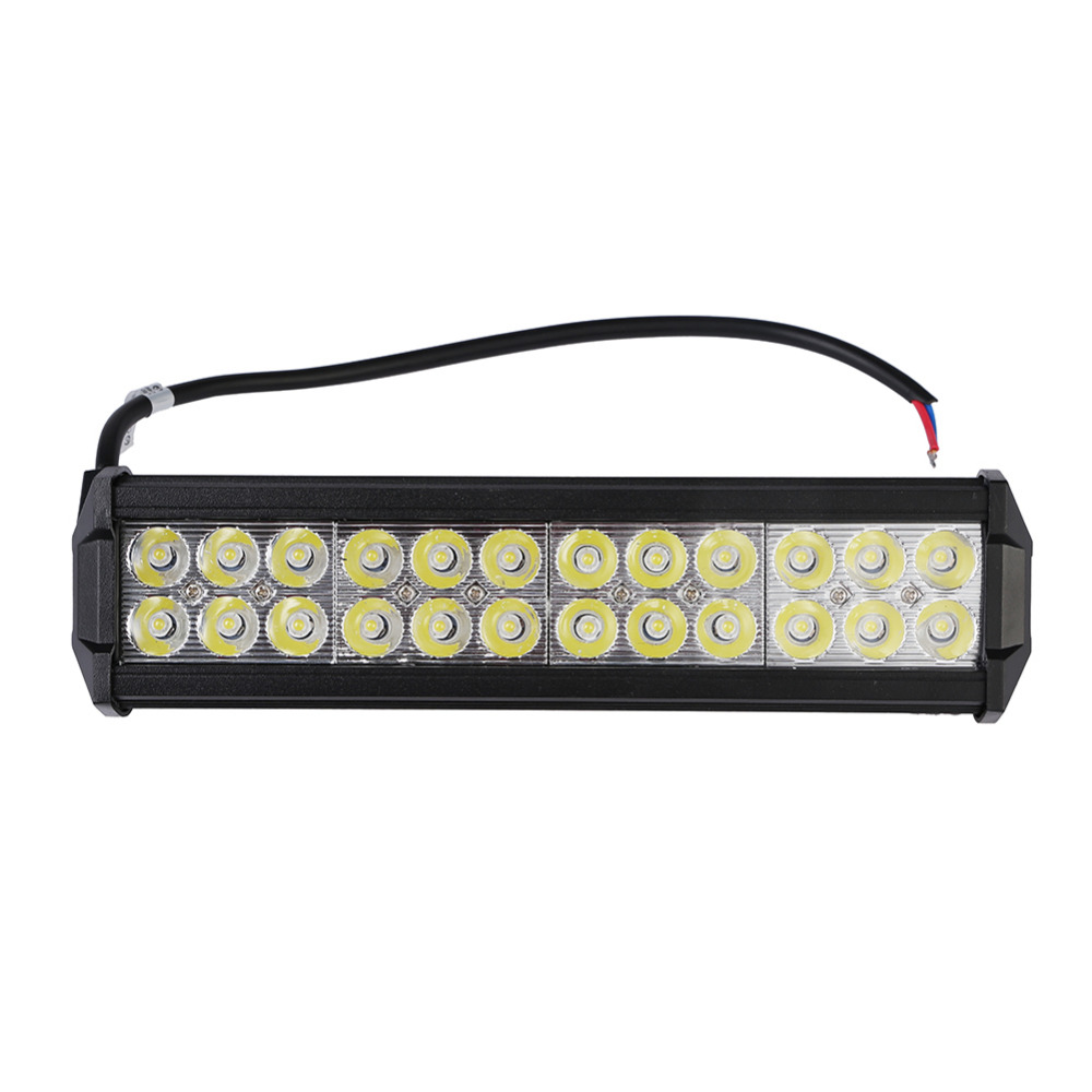 Waterproof LED Work Light Lamp Bar 72W Flood Spot Combo Beam Offroad Boat Car Motorcycle SUV ATV Floodlight 9 90w led work light 12v 24v led drive light spot combo led lens motorcycle boat atv 4wd offroad fog lamp led worklight vs 120w