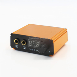 2017 Newest High Quality Professional LCD Dual Tattoo Power Supply For Tattoo Machine Guns Supply