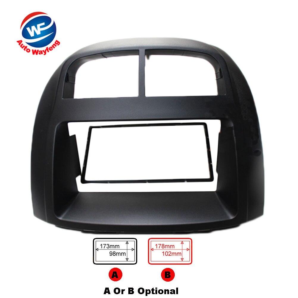 Car refitting DVD frame panel Fascia Radio Frame Audio frame Fit For subaru Justy Toyota passo