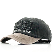 цены на New Black Letter Baseball Cap Fashion Snapback Hats Casquette Bone Cotton Fitted Hat For Men Women Apparel Wholesale  в интернет-магазинах