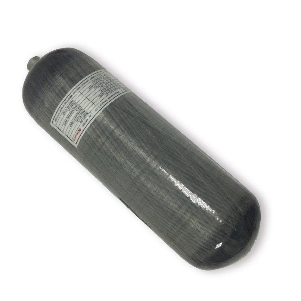 AC109 Acecare 9L CE HPA comprimé Paintball réservoir PCP cylindre en Fiber de carbone pour la plongée Airforce Condor/fusil à Air comprimé pour la chasse