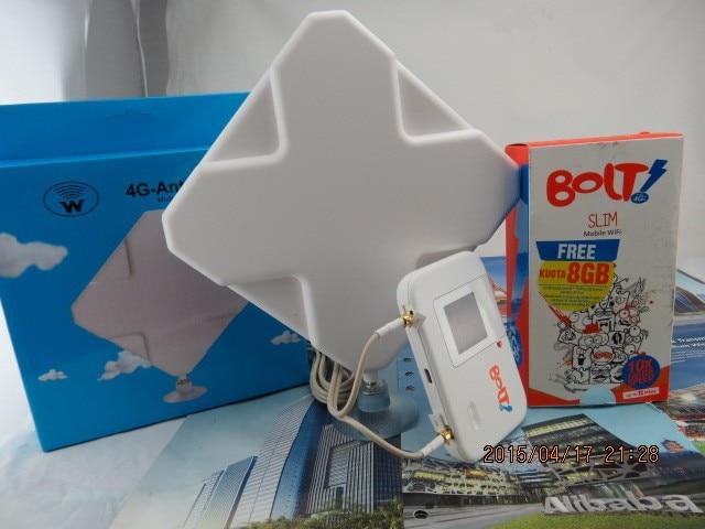 4g LTE Antenna 35dbi Ts9 Connector Booster Signal Amplifier +hotspot Huawei Bolt E5372s+Thick battery 3560mAh