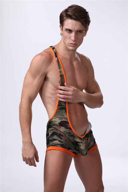 2016 Camouflage Erotic Mens Jockstrap G String Thongs Drawstring Pouch Enhancing Gay Tangas Couple Fetish Sex Underwear Clubwear