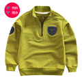 Cotton zipper jacket sets of Europe and the United States pullover  shirt age from 2-10T