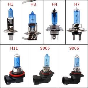 Super Bright Halogen Bulbs H1 H3 H4 H7 H11 9005 HB3 9006 HB4 55W 100W 12V 5000K Car Headlight Fog Lights Driving Lamp White