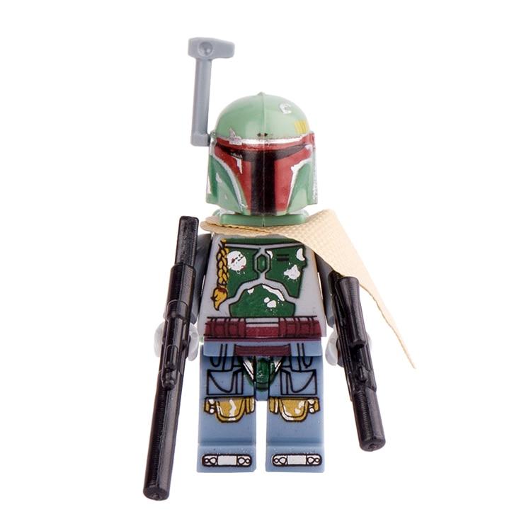 <font><b>Star</b></font> <font><b>Wars</b></font> 7 New Boba Fett The Force Awakens Starwars Building Blocks Children Classic Set Models Bricks DIY Kids Toys Hobbies