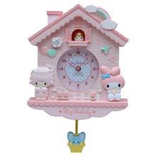quartz Clocks font b watches b font Children bedroom cute cartoon creative wall clock real shape