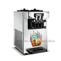 18 22L/h Factory price Stainless Steel Ice Cream Making machine Commercial Soft Ice Cream Machine