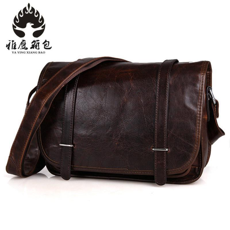 Genuine Leather Bag Women Leather Bags Messenger Bag Laptop Female Woman Casual Tote Shoulder Crossbody Bags Handbags Women zency new women genuine leather shoulder bag female long strap crossbody messenger tote bags handbags ladies satchel for girls