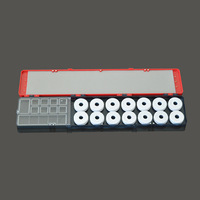 Multifunctional Drift float Fishing line Winding Board Accessories storage case Fishing Tackle Boxes