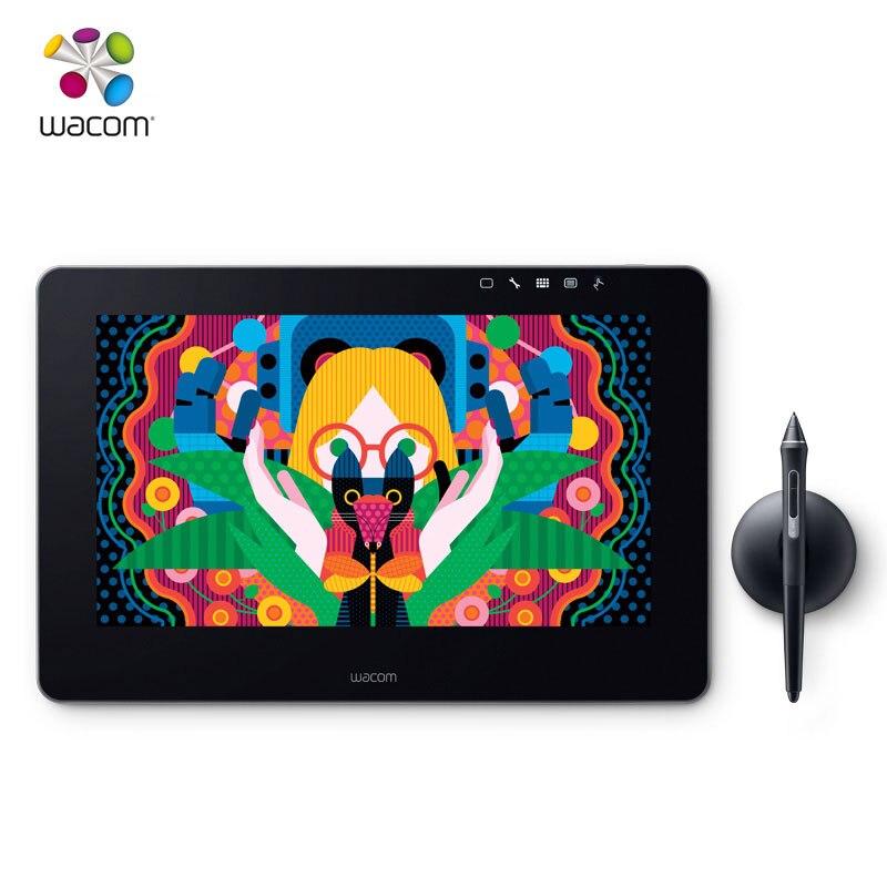 DHL Livraison Gratuite Wacom Cintiq Pro 13 DTH-1320 Creative Tablette-Écran Moniteur Dessin Graphique Comprimés 8192 Niveau de Pression