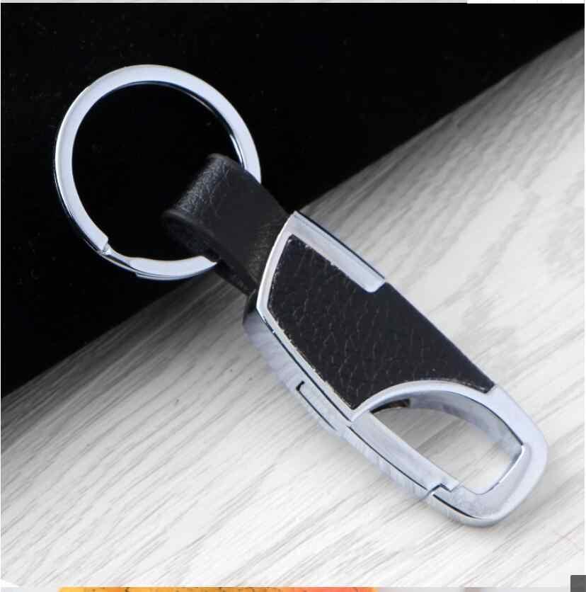 De Metal de cuero estilo de coche llave anillo cadena llavero para Chevrolet Trailblazer Onix Tru Orlando código Captiva Aveo vela