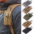 4.5 pulgadas Universal Army Tactical Bolsa de Gancho Bolsa de La Cubierta Del Teléfono Móvil envío libre de Caja