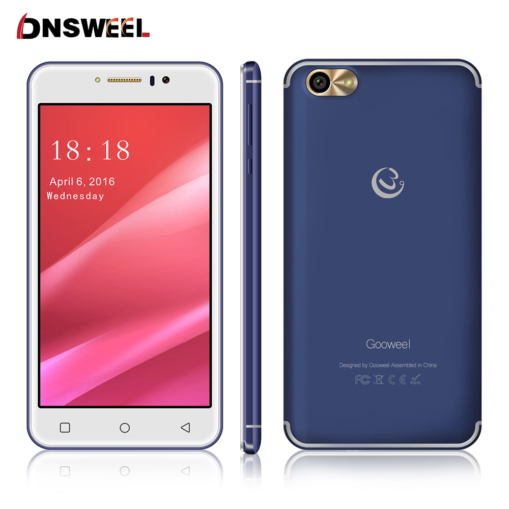 New Gooweel M7 cell phone 5 5 inch IPS screen MTK6580 quad core Mobile phone GPS