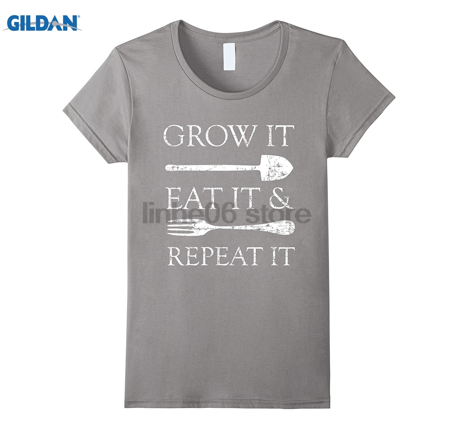 GILDAN Grow it, Eat it & Repeat it Shirt, Gardening, Eating Organic sunglasses women T-shirt