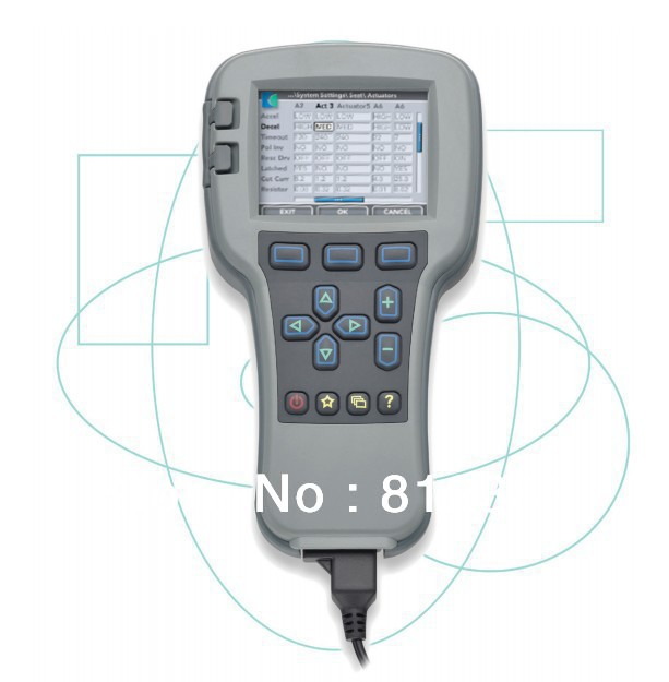 Curtis 1313 4401 Curtis 1313 4331 OEM Level Handheld Programmer Handset With 4 Pin Moles Cable