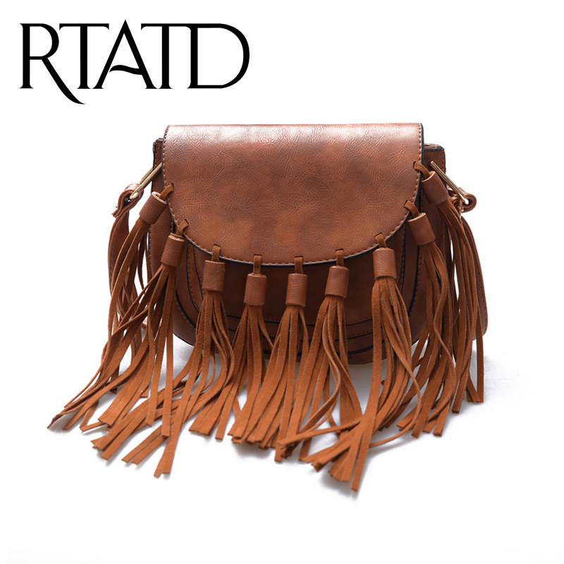 Tan leather shoulder bag long strap
