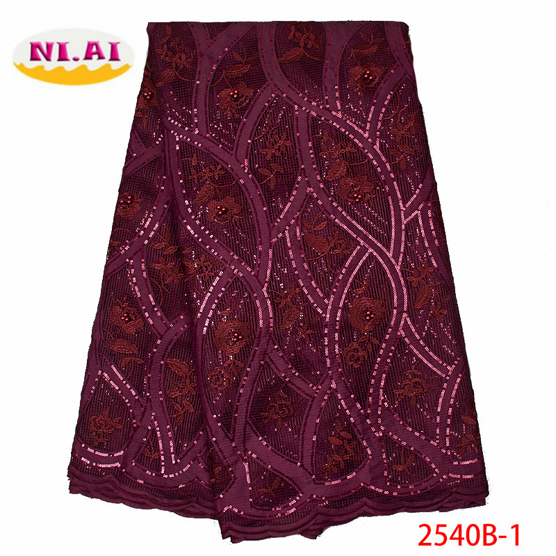 african sequins lace fabric nigerian lace fabric with sequins french lace fabric 2019 high quality for