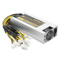 1600W Mining Minner Power Supply APW3 12 1600 PSU Power Supply BTC Antminer Miner Power Supply