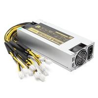 1600W Mining Minner Power Supply APW3 12 1600 PSU Power Supply BTC Antminer Miner Power Supply
