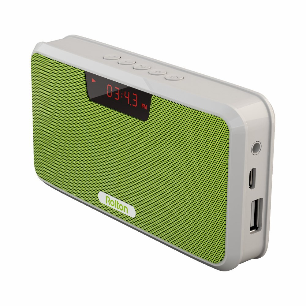 Tragbares Audio & Video Tragbare Mini Fm Radio Lautsprecher Musik Player Tf Karte Usb Für Pc Ipod Telefon Mit Lcd Displaystereo Headset Wiedergabe Rolton W505