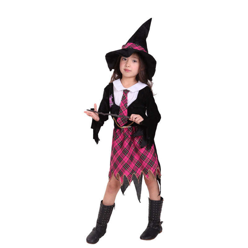 Halloween Childrenu0027s Magician Costume Fancy Dress Makeup Ball Witch Magic Girl Costume CQG0145-in Girls Costumes from Novelty u0026 Special Use on ...  sc 1 st  AliExpress.com & Halloween Childrenu0027s Magician Costume Fancy Dress Makeup Ball Witch ...