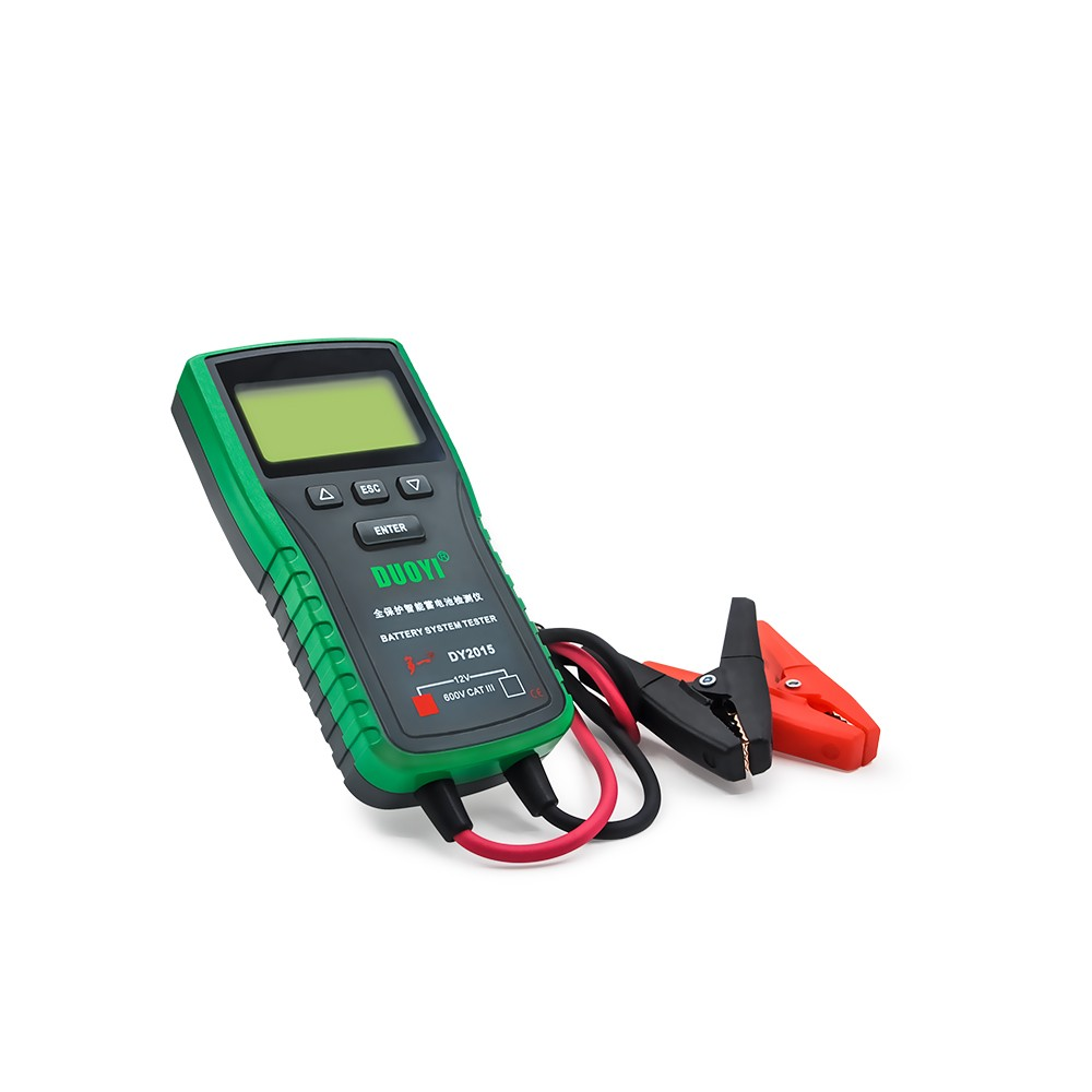 Original DUOYI DY2015 Better than BST100 Car Battery Tester 12V Automotive Auto with Portable Design