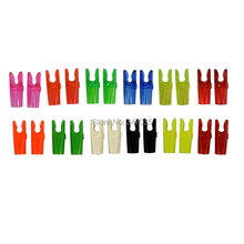 50 pcs/lot Plastic S Pin Nock Arrow Shaft Accessories Outdoor Hunting Shooting Archery Bow Parts