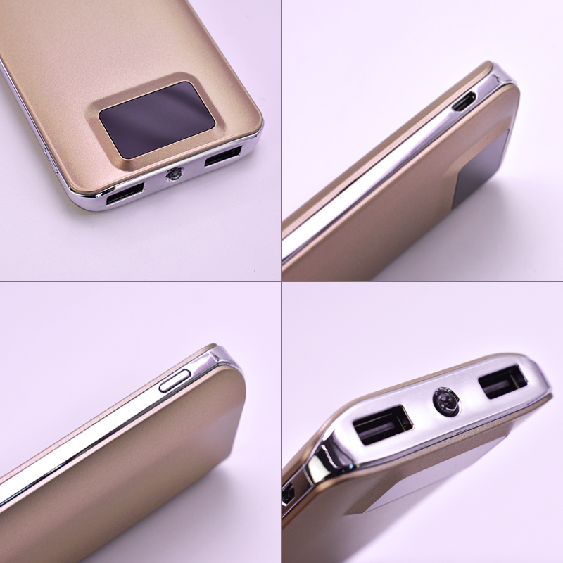 Best Price 20000mah Power Bank Mobile Phone Accessories External Battery Quick Charge Dual USB LCD Portable Mobile Phone Charger