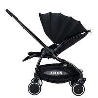 Сайт Kidstravel Роскошные Детские коляски для новорожденных складной Портативный коляска