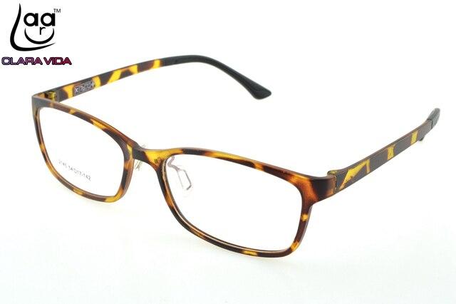 ONLY 7G= Leopard TR Ultra Light Memory Nerd Glasses Frame Custom ...