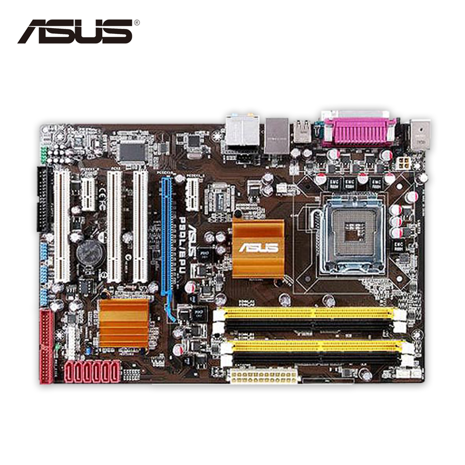 все цены на Asus P5QL/EPU Original Used Desktop Motherboard P43 Socket LGA 775 DDR2 16G SATA2 USB2.0 ATX On Sale онлайн
