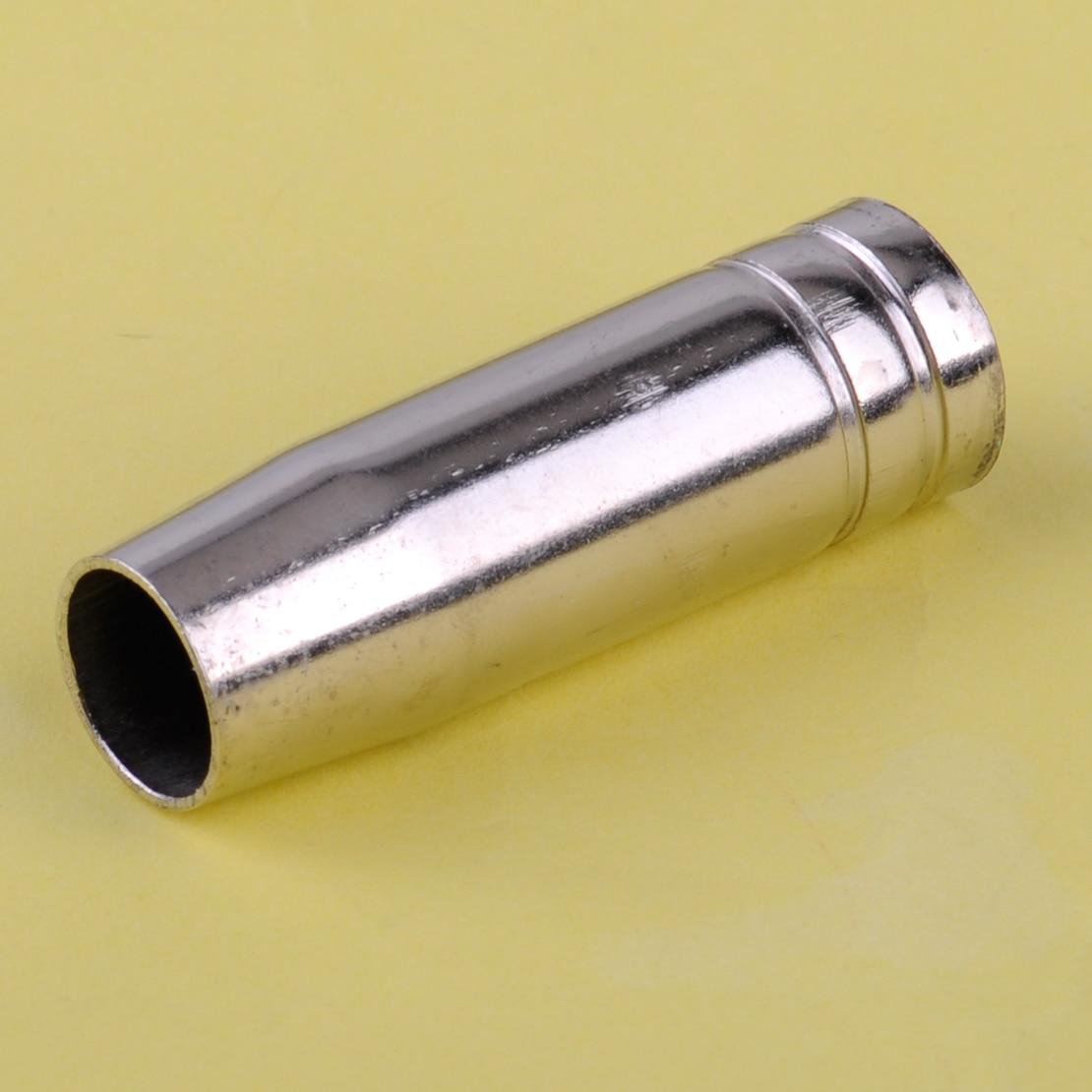 LETAOSK 50 pièces MO 15AK MIG/MAG Torche De Soudage Cuivre Buse Linceul Manchon de Protection De Remplacement