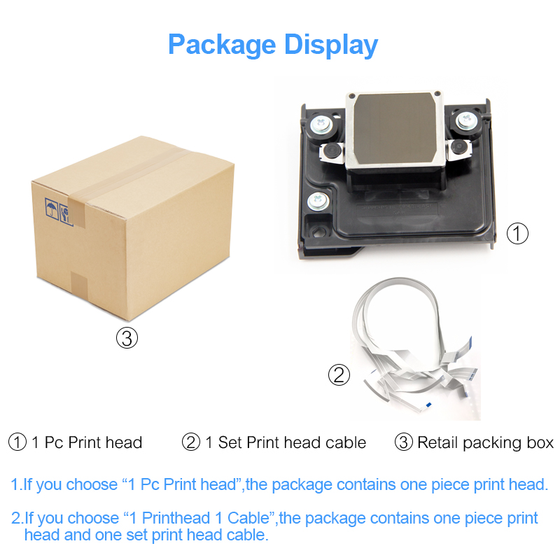 Color: 1 PC Print Head Printer Parts Starcolor F182000 F168020 TX400 Print Head Yoton for Eps0n CX3500 CX4100 CX4600 CX4900 CX5900 TX400