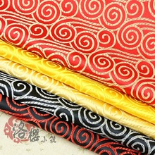 Woven damask costume hanfu formal dress baby clothes silk satin chinese style cos fabric series