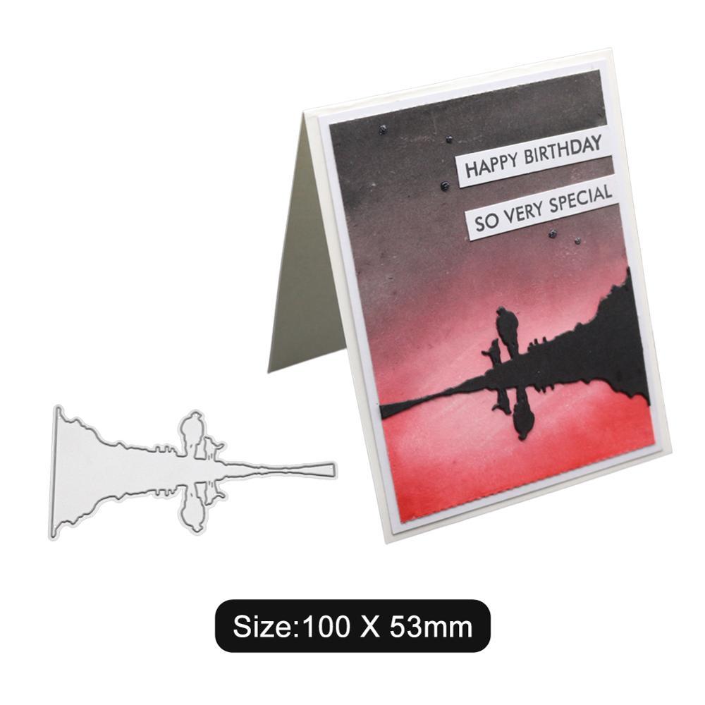 Good looking background card Craft metal cutting dies cut die shape decoration Scrapbook paper craft knife blade stencils