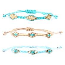 Charm Bohemia Handmade Multicolour MIYUKI Beads Bracelet & Bangle For Women man Adjustable Ethnic hand Jewelry friend Gift