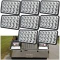 8 UNID 4x6 Sealed Beam LED Faros HID para Peterbilt Kenworth FREIGHTLINER GMC