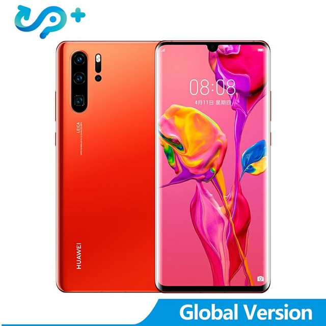 "Global Version Huawei P30 Pro 8GB 128GB MobilePhone 42MP Triple Rear Cameras 6.47"" Full View Screen NFC 4200mAh EMUI 9.1"