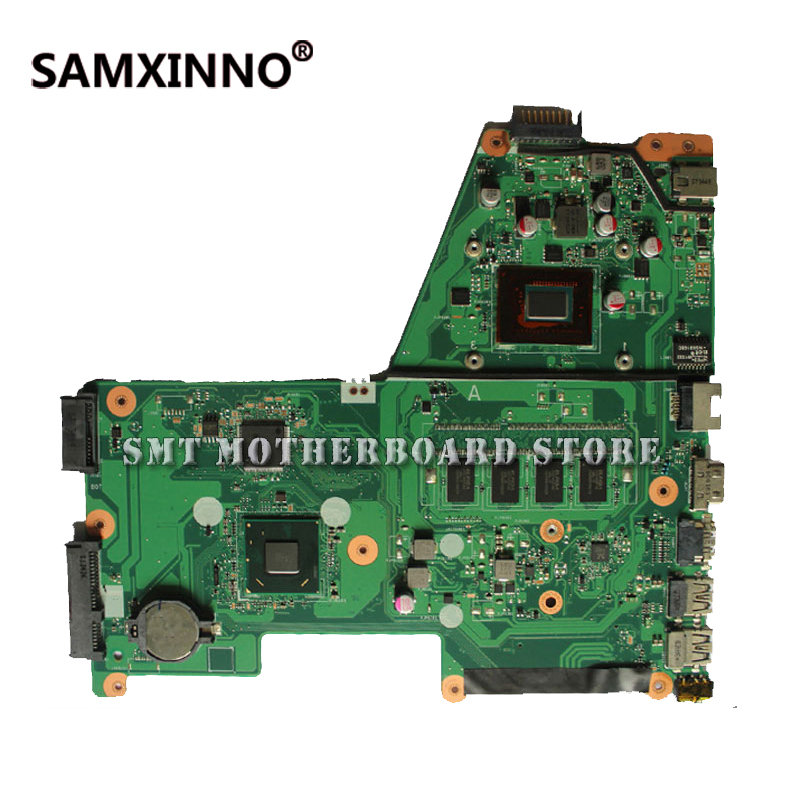 For Asus X451C X451CA F451 F451C X451CA REV2.0 1007U 2GB Integration DDR3 Laptop Motherboard System Mainboard Card Logic Board hot for asus x551ca laptop motherboard x551ca mainboard rev2 2 1007u 100% tested new motherboard