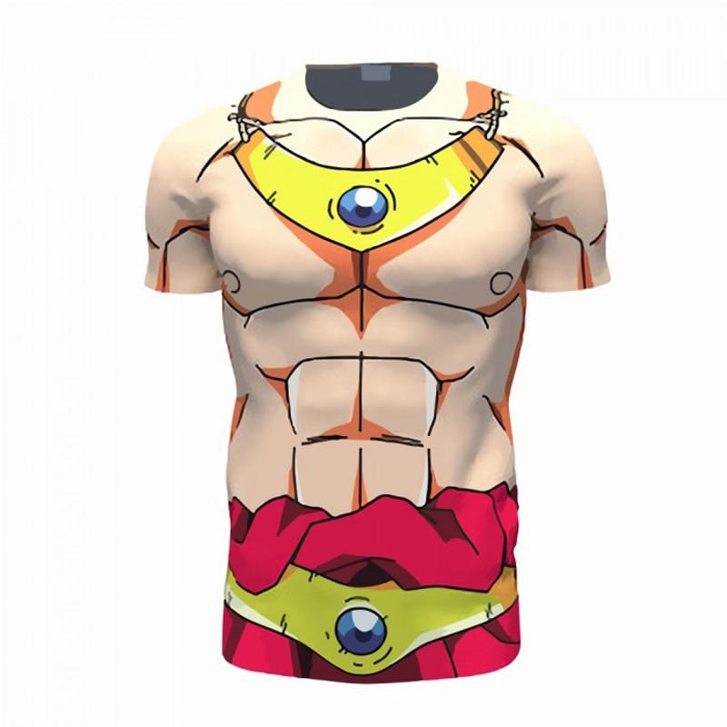 Dragon Ball Z Summer 3D T shirt Broly Goku Trunks Cell Men Casual Anime Super Saiyan T-shirts Harajuku tee Tops