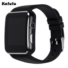 X6 Curved Screen Bluetooth Smart Uhr Smartwatch Mode Uhr Für Android Phone Support-sim-karte Armbanduhr